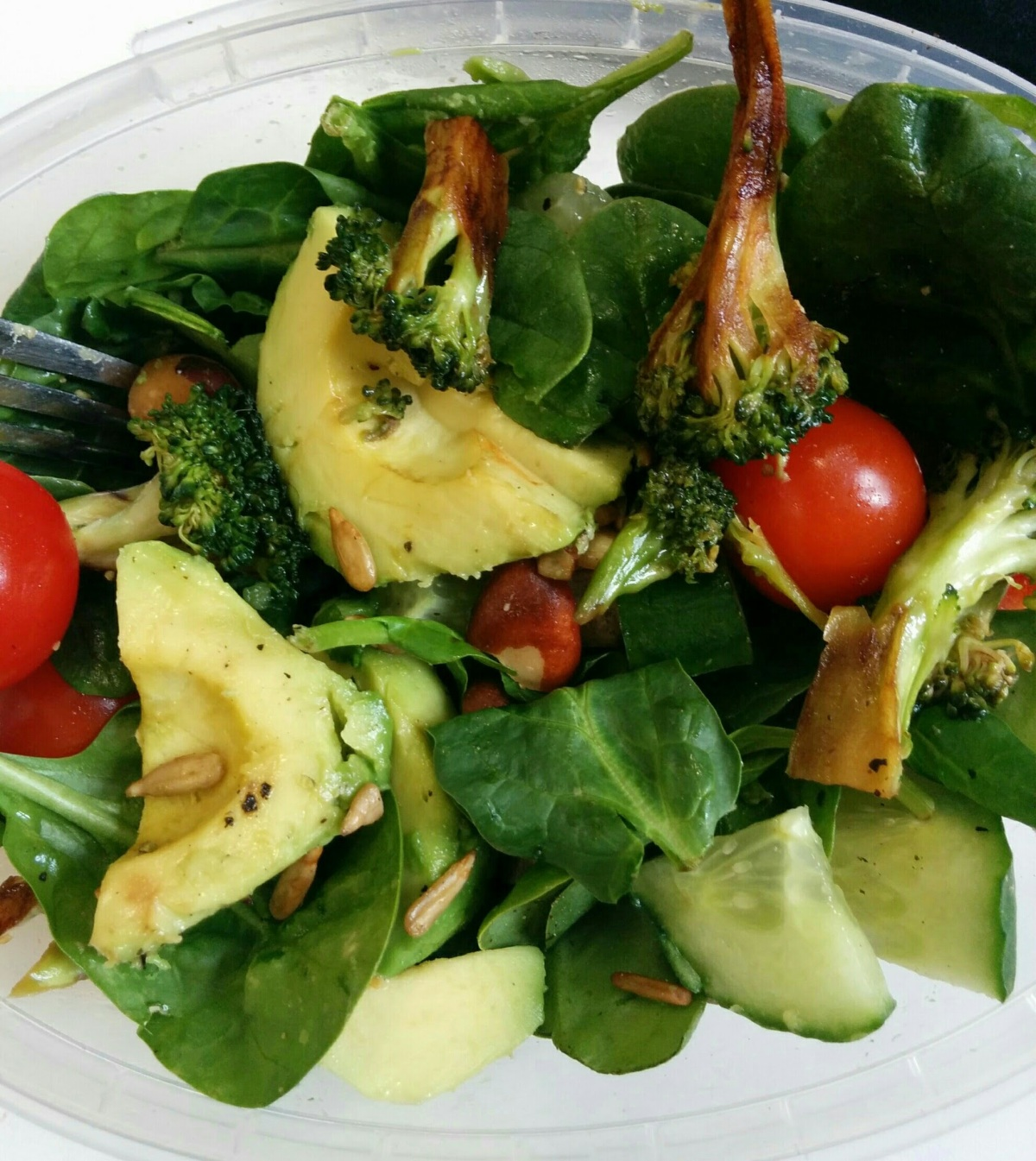 broccoli and avocado salad