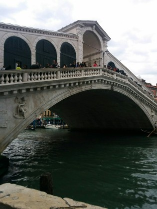 Rialto Bridge - you cross this a lot
